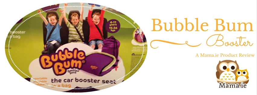 Product Review: Bubble Bum Booster Seat
