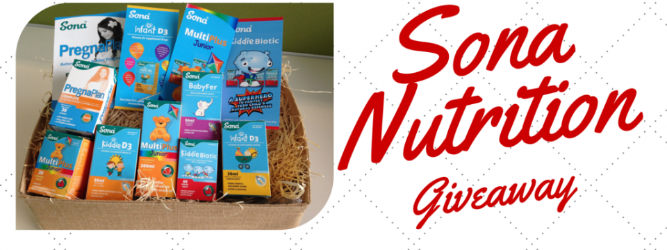 Sona Nutrition Review and Giveaway